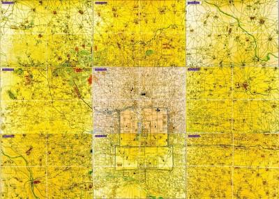 一张华丽的1923年北京地图